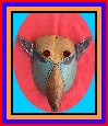 Authentic Mexican Dance Mask